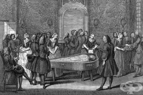 Поглъщащите грехове - странна професия, практикувана столетия на Британските острови - изображение