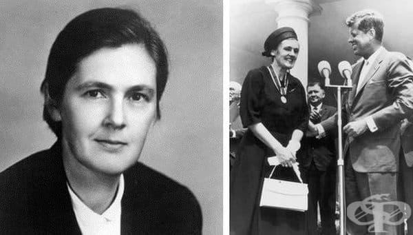 Франсис Келси и ролята й за регулирането на американския лекарствен пазар от 60-те години на миналия век - изображение