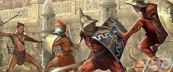Гален като гладиаторски лекар от 158 до 161 година - изображение