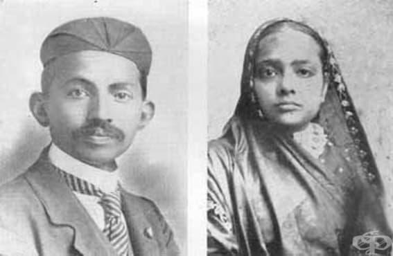 Попречил ли е Махатма Ганди на лечението на съпругата си - изображение