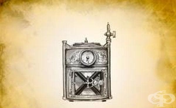 Газометри за съхранение на анестетични газове от 1860 година - изображение