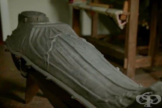 Нюйоркска мумия, закована в железен ковчег, се оказва болна от едра шарка - изображение