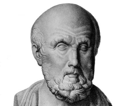 Хипократ и теорията за четирите хумори - изображение