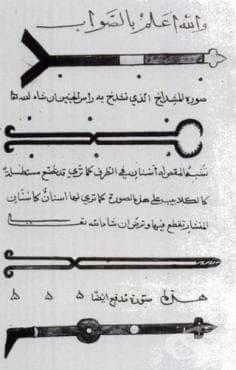 Хирургични инструменти, употребявани в древната арабска медицина - изображение