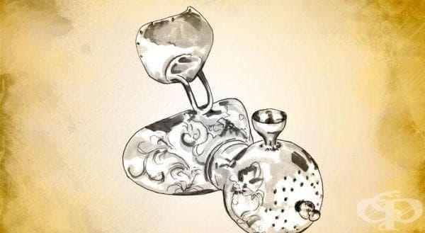 Хлороформен инхалатор на Елсер от 1848 година - изображение