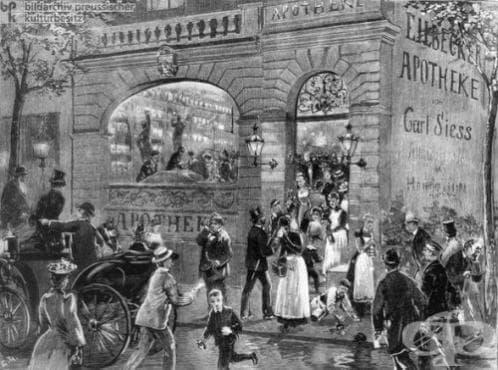 Холерна епидемия в Хамбург - изображение