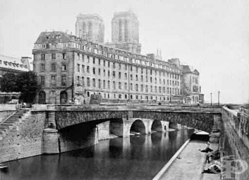 """""""Hotel Dieu"""": една от най-старите болници в Европа  - изображение"""