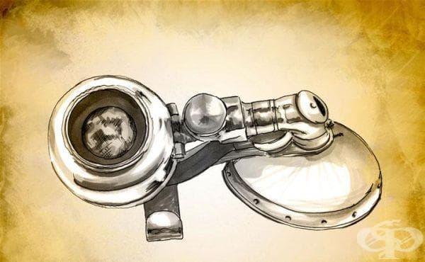 Инхалатор на д-р Дейвис от 1913 година - изображение
