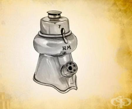 Инхалатор на Теодор Туфие от 1905 година - изображение