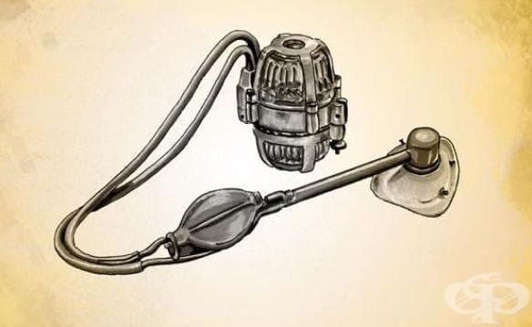 Инхалатор за анестетици на д-р Денис Джаксън от 1934 година - изображение