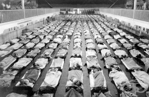 История на испанския грип - изображение