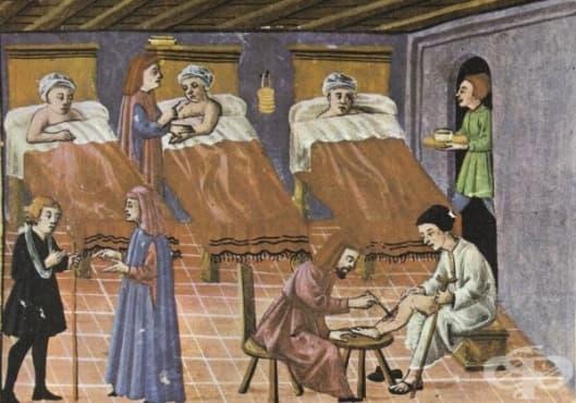 История на лечебните заведения - изображение