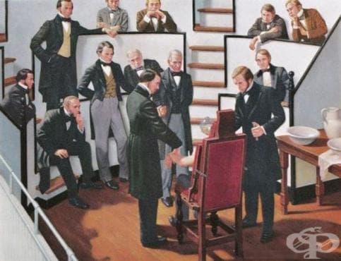 История на упойките в медицинската наука  - изображение
