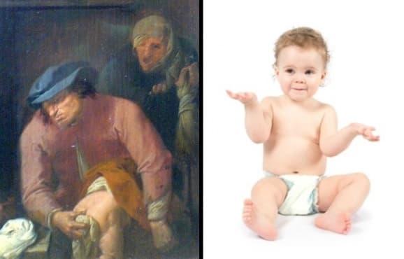 История на детските пелени – от заешката кожа до съвременните памперси - изображение