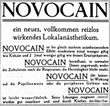Издаване на втори патент за производство на новокаин - изображение