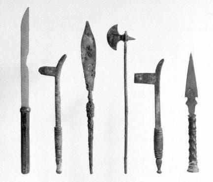 Източници, разказващи за древногръцките лекарски инструменти и развитието на медицината около 490 г.пр.Хр. - изображение