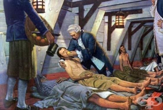Джеймс Линд - Бащата на корабната медицина - изображение