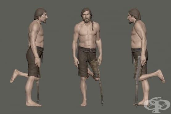 Китайска протеза на 2 200 години е принадлежала на мъж с европеидни черти - изображение