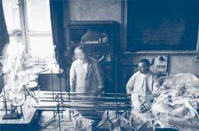 Джон Ейбъл и Георг Хаас в навечерието на диализното лечение - изображение