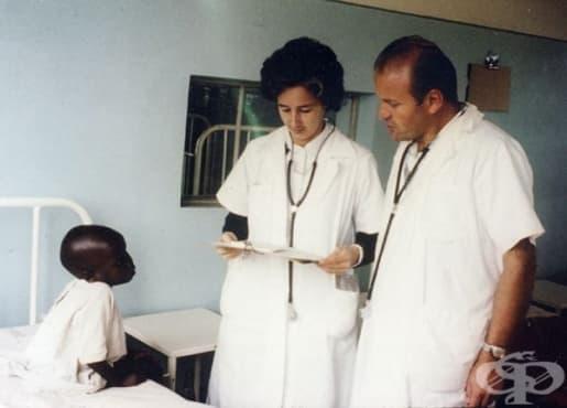 Канадската лекарка Люсил Тийдейл и медицинската й практика в Уганда  - изображение