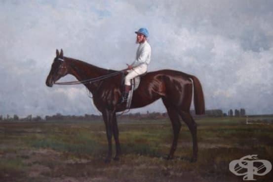 Франк Хейс - жокеят, жертвал живота си за победа в конно надбягване - изображение
