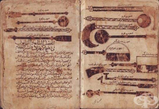 """""""Kitab al-Tasrif"""" - първата медицинска енциклопедия, описваща симптомите на заболяването хемофилия, създадена от Албуказис - изображение"""