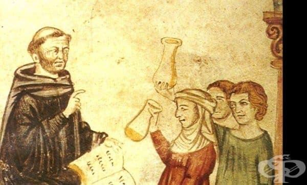 Медицинска практика на Константин Африкански от XI век  - изображение