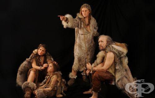 Кроманьонците като ключови представители на вида Хомо сапиенс - изображение