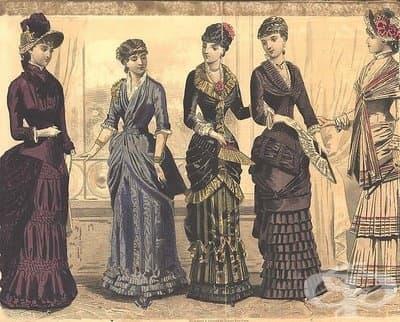 Как бактериите определят модата през Викторианската епоха - изображение