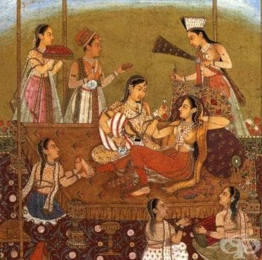 Лесбианизъм в древна Индия - изображение