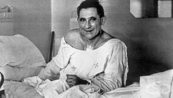 Луис Вашкански – мъжът, претърпял първата директна сърдечна трансплантация  - изображение