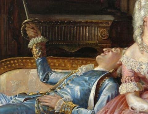 Лудият датски крал Кристиан VII, който имал хроничен проблем с мастурбацията - изображение