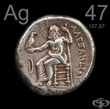 Медицинска употреба на среброто до 1800 година - изображение