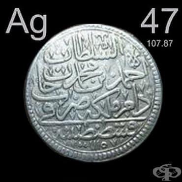 Медицинска употреба на среброто от древните народи  - изображение