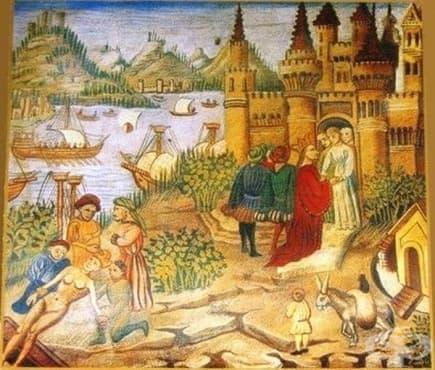 Медицинската школа в Салерно: носителят на римската и гръцката лечебна традиция до 14 век - изображение