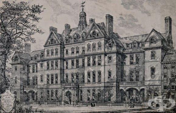 Медицински заведения и колонии за лечение на епилепсия във Великобритания от края на 19-ти век  - изображение