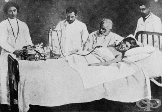 Методи за лечение на туберкулозата от началото на 20-ти век  - изображение