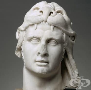 Цар Митридат VI, който бил имунизиран срещу всички отрови, познати на човечеството - изображение