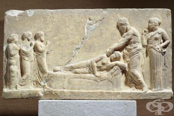 Митологични източници, описващи появата на някои заболявания  в Древна Елада - изображение