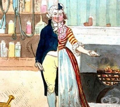Мястото на мъжете в акушерството в Европа от втората половина на 17-ти век  - изображение