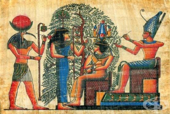 Наблюдения на староегипетските медици, описващи болести на храносмилателната система - изображение