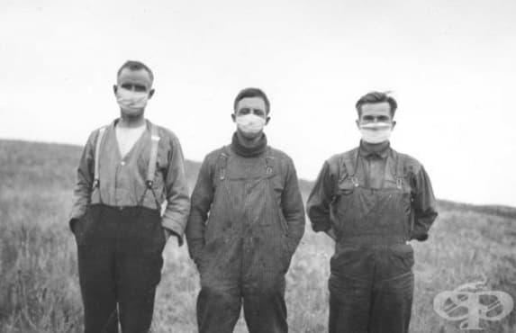 Пролетта на 1918 г. – първа епидемична вълна от инфлуенца в Испания  - изображение