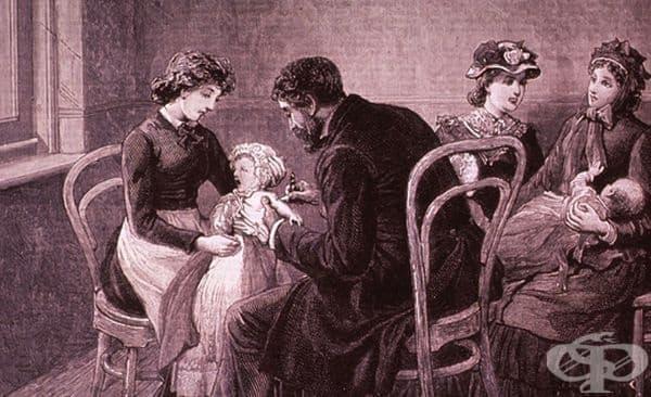Напредък в проучванията върху детските инфекциозни заболявания в Европа от 18-ти век - изображение