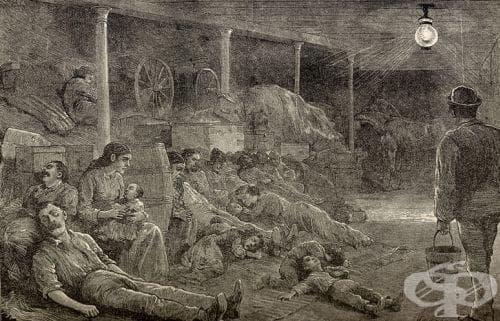 Обяснения за причините за холера от деветнадесети и двадесети век - изображение