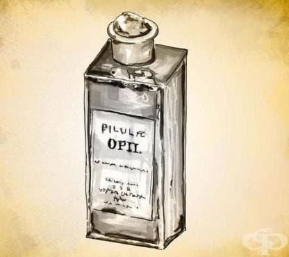 Опиумни лекарства от времето на Гражданската война в САЩ - изображение