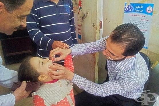 Проект на Ротари Интернешънъл постигна успех в борбата с полиомиелита - изображение