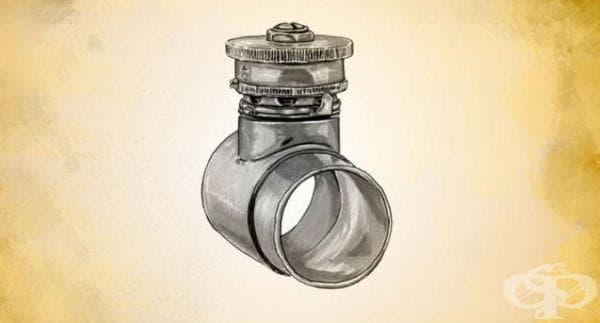 Поява на анестезиологичния вентил на Хайдбринг през 1929 година - изображение