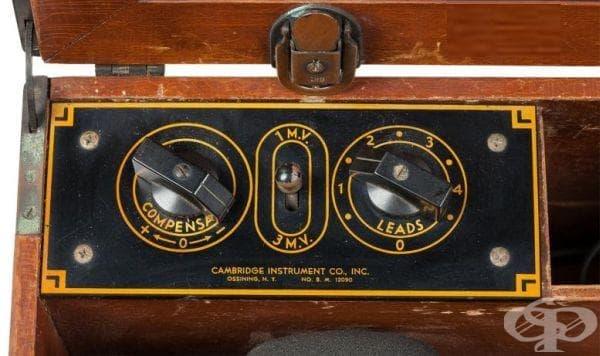 """Поява на кардиографа """"Cambridge Simpli-Trol"""" през 1911 година - изображение"""