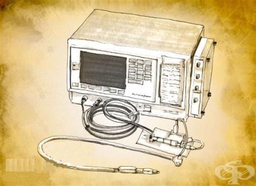 Поява на езофагеалния монитор за целите на анестезиологията през 1981 година  - изображение