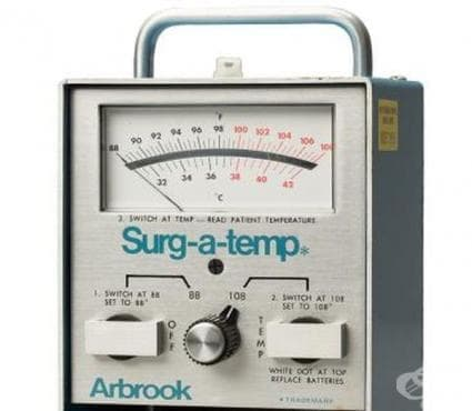 Поява на тимпаничните термометри след 1970 година - изображение